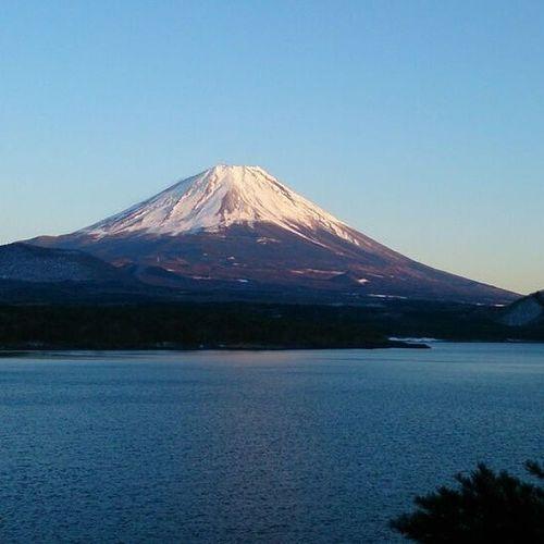 mt. Fuji Mauntains Fuji Fujisan Nature Lakes  Japan