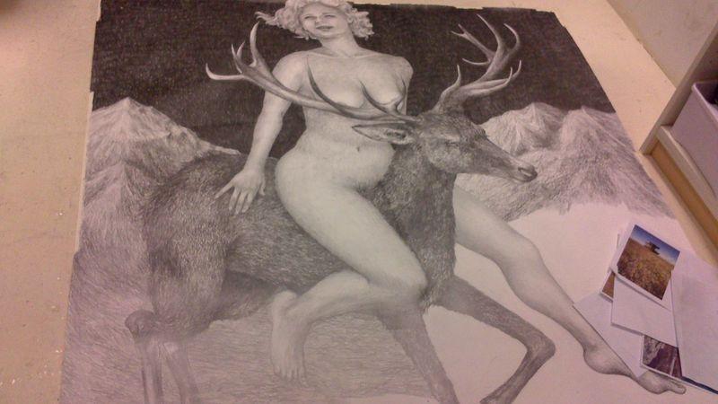 Drawing Process My Artwork