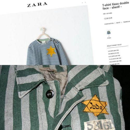 Zara ❤ Shame Boycott Judaism