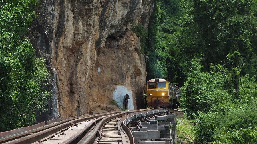 The attraction kanchanaburi, thailand, the death railway during world war ii.