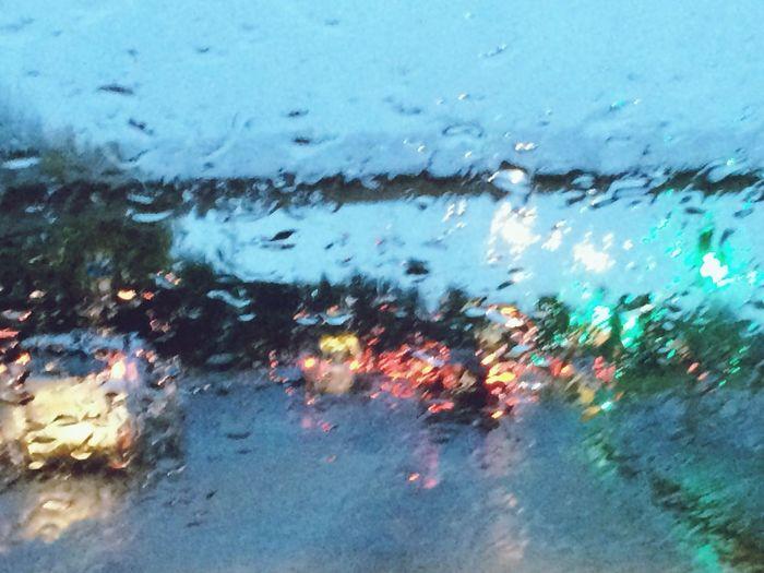 Raining Again Dublin Traffic Traffic Jam Cars Rain Rain On Glass Rain On My Car