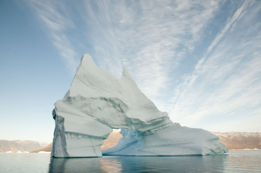 Giant Iceberg - Scoresby Sound - Greenland Giant Greenland Ice Arctic Cold Temperature Iceberg Scoresby Scoresby Sound Scoresby Sund Winter
