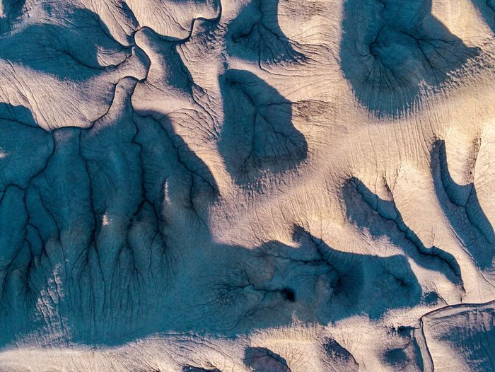 Contrast Utah USA Full Frame Day No People Backgrounds Nature Sunlight Pattern High Angle View Close-up Land Sand Outdoors Shadow Beauty In Nature