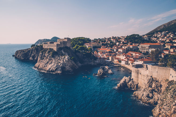 Dubrovnik, Croatia City Cityscape Coast Croatia Dubrovnik History Sea Sky Travel Destinations