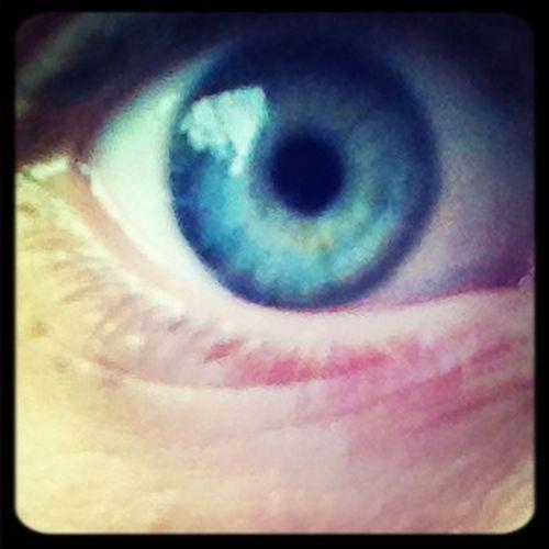 Mit øjne.