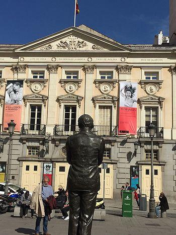 Plaza De Santa Ana Teatro Español Madrid Un Lugar Con Encanto