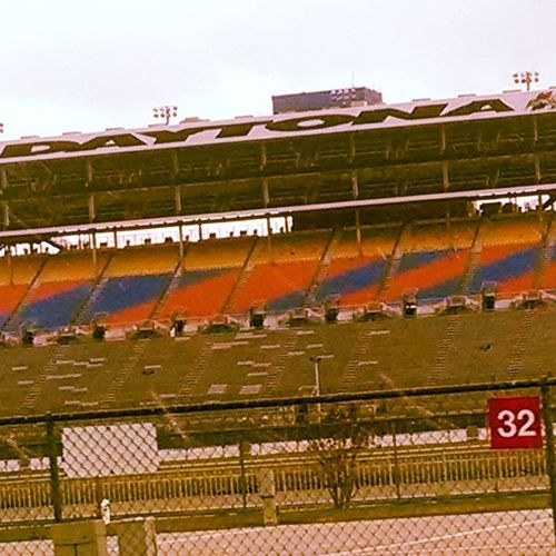 Snapped this cruising through the infield on the big track while I was there for kart week...looked @ it later and realized I randomly got my number in it. 32 Daytona Kartweek '13 Random