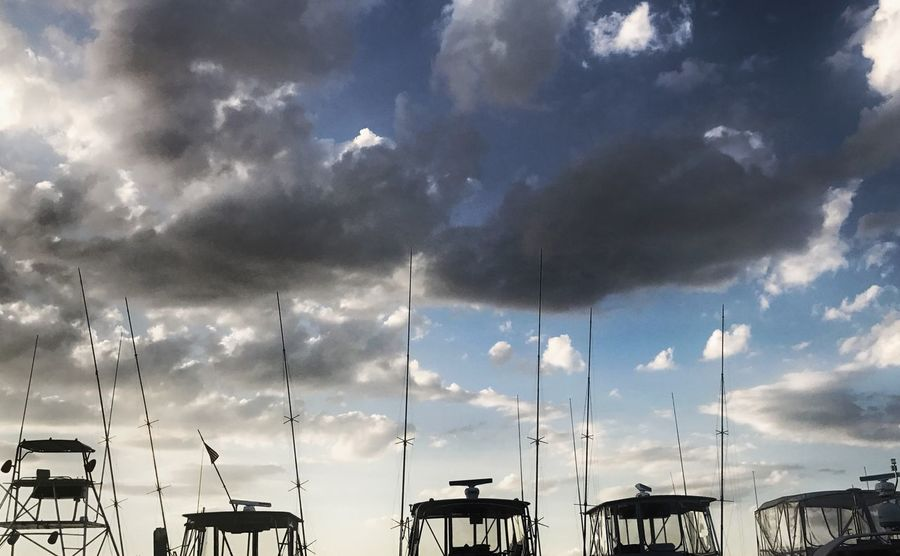 Fishing Boats Sky Day Silhouette Outdoors Beauty In Nature Sea Cloud - Sky Water Marthasvineyard