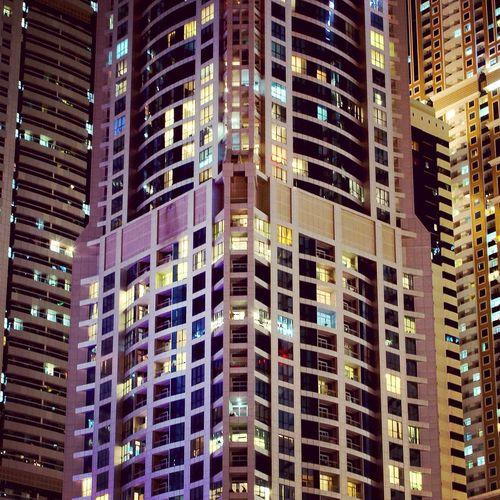 The Torch tower Dubai Dubai Marina UAE , Dubai UAE Skyscrapers The Torch Tower Torch Tower Princess Tower The Architect - 2016 EyeEm Awards Cities At Night
