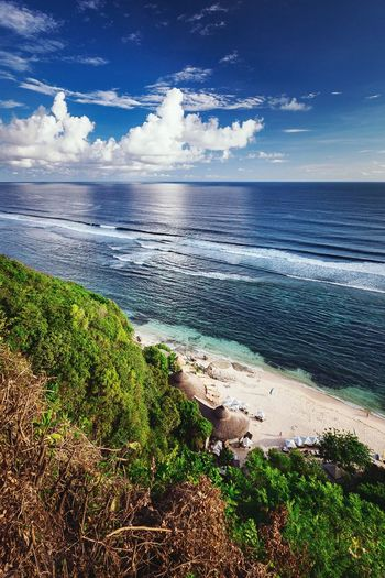 Where dreams come true....Karma beach, Bali, Indonesia! Relaxing Taking Photos Oceanview Fromabove Beach Resort Holiday Beautiful Tropical Paradise INDONESIA INEEDNATURE Eat, Pray,Love Bali Balinese Life Bali, Indonesia Baliphotography Explore Followme Enjoying Life Travel Jumbaran Outdoors Exotic Landscapes With WhiteWall