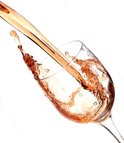 splash of wine Close-up Day Freshness Non-alcoholic Beverage Pouring Splashing Studio Shot White Background Wine Wine Glass