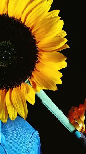 My Nails  Sunflower Pretty♡ Present Suprise Summer 🙈🙊🙉👑