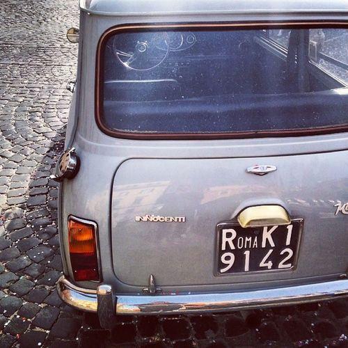Oldcar Mini Innocenti Vintage likeamini italy italiancar