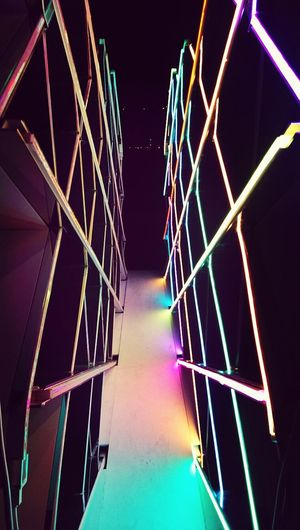 Light corridor! Check This Out Art Installation VIVID Sydney Vivid Colours