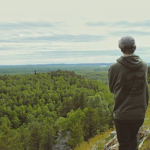 Greettheoutdoors at the highest natural point in Minnesota!