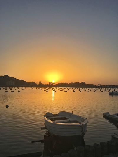 Relaxing Sicily Sunset Atmosphere Summertime Summersicily sicilytourism