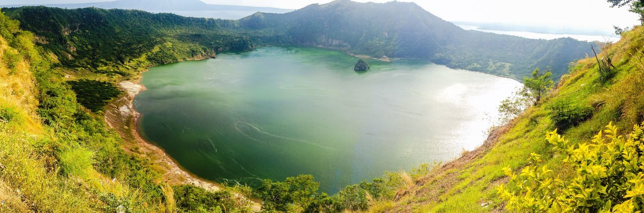 Lake Take Only Pictures, Leave Only Footprints Nature Hiking Eyeem Philippines Trekking Philippines A Bird's Eye View Great Views Vulcan Point The Great Outdoors - 2017 EyeEm Awards