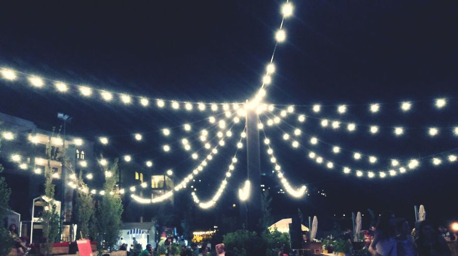 Lights Outdoor Night Party