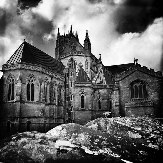 Downside Abbey Abbey Church Monks Architecture Photography Architecture Building Exterior Built Structure Religion Place Of Worship Sky Spirituality Building Buildings Buildings & Sky Bnw Architecture Blackandwhite