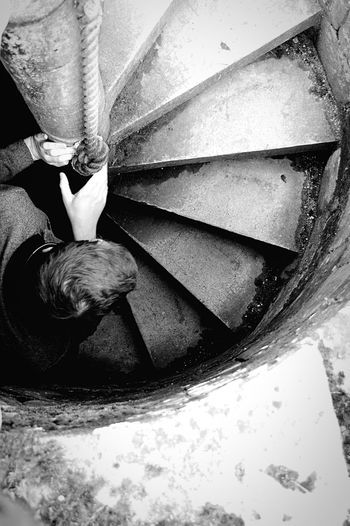 GoodrichCastle Englishheritage Blackandwhite Black & White Monochrome Stairs Taking Photos Darkness And Light Castle English Heritage
