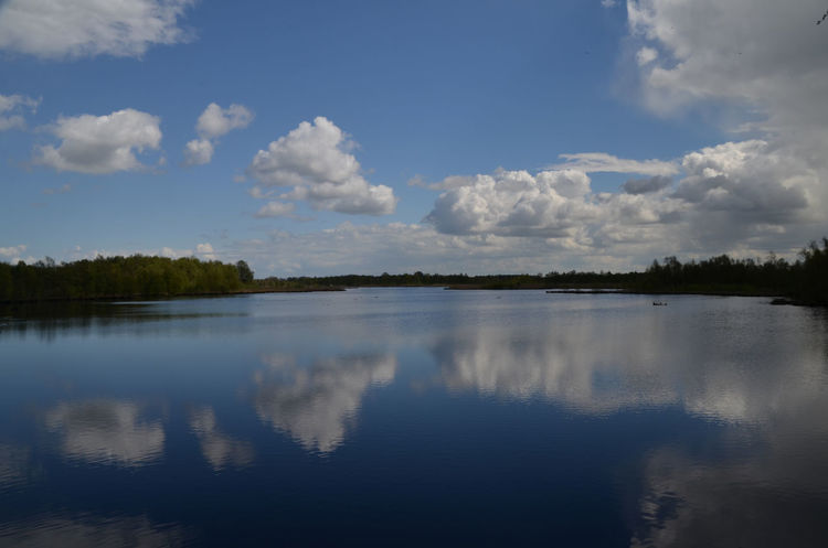 Beauty In Nature Cloud - Sky Day Lake Münsterland Nature No People Outdoors Reflection Scenics Sky Tranquil Scene Tranquility Zwillbrock Zwillbrocker Venn