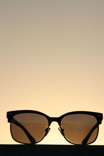 Sunglasses Eyeglasses  Copy Space Sunset Vision Sand No People Nature Glasses Summer Beach Outdoors Clear Sky Water Day Eyesight Close-up Sky