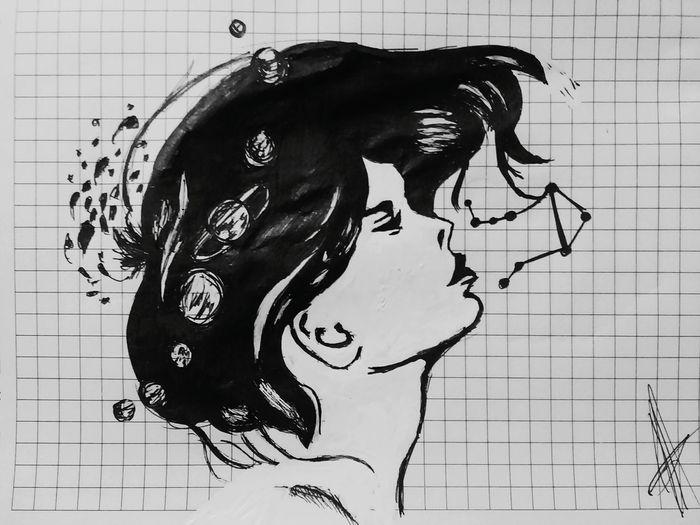 Black & White Penandpaper HEAD