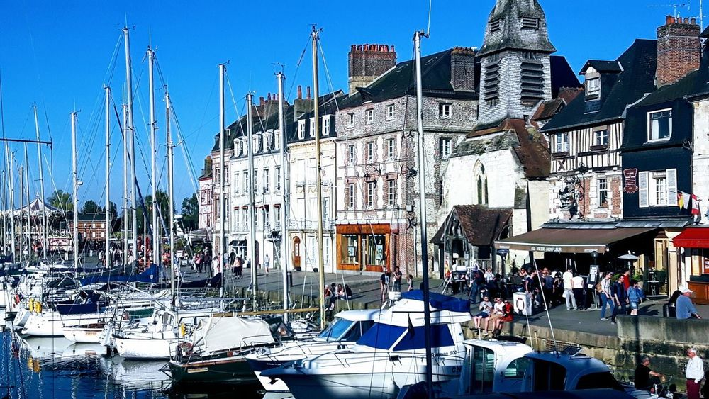 Little Journey Travelling For Week End Been There Boats⛵️ Port People Beautiful Day Sunlight And Shadow Enjoying Life The Week On Eyem Honfleur Normandie, France