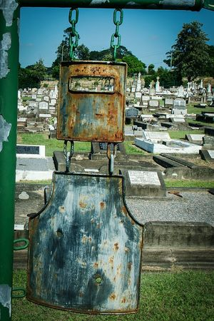 Ned Kelly 's grave? Nikon D5100  Cemetery Photography Graveyard Beauty Iron Work Armour