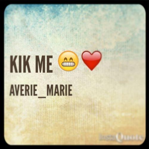 Bored Kik Me Thoo>>
