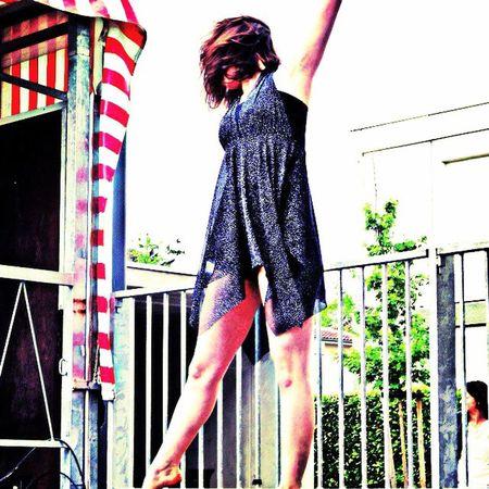 Dance Life Love Brune Flex Black Hair Jazz Contempory Contemporain Concours Lycée