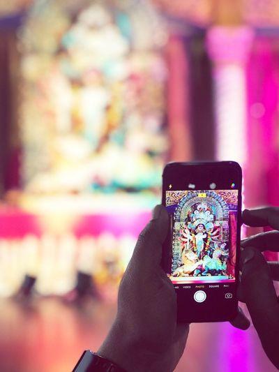 JamesCookHighSchool Durgapujacelebration Sydneydurgapuja Bengali Indianfestival Festival Mobileshot IPhone7Plus