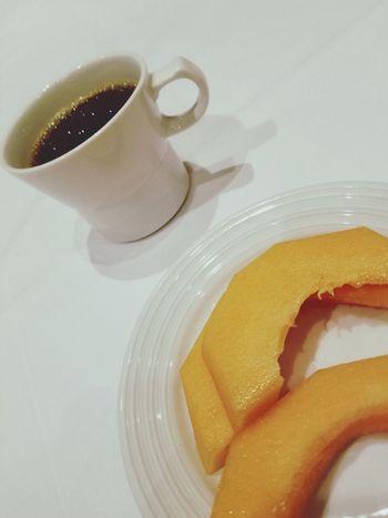 Fruit Melon EyeEm Selects Close-up Black Coffee Coffee EyeEmNewHere