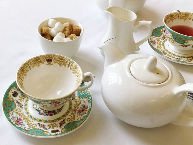 Afternoon Tea Royal China London London Lifestyle Travel Photography Teapot TeaCup Saucer Sugar Cubes EyeEm LOST IN London Food Stories