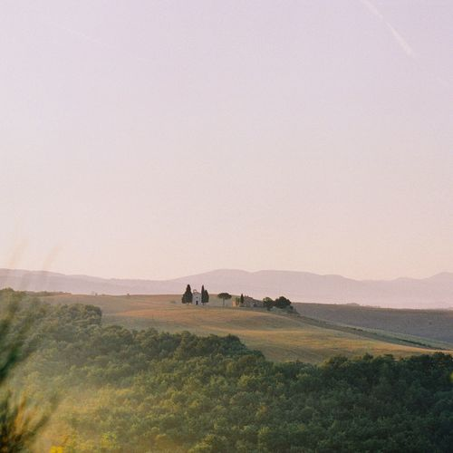 Italy Travel Destinations Tuscany Filmphotography Land Landscape Nature Real People Field Group Of People Environment Beauty In Nature Scenics - Nature Rural Scene Grass Tranquil Scene