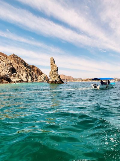 EyeEm Selects Water Sea Sky Cloud - Sky Waterfront Nature Scenics - Nature Nautical Vessel