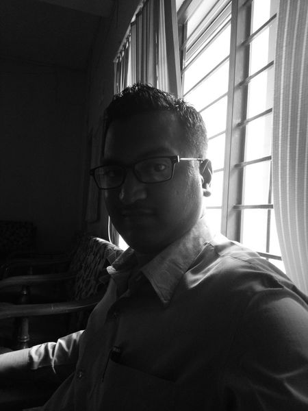 Sony Xperia M5 Selfie ✌ Self Portrait Spects Dark Room Hairstyle Smile :) Window Monochrome Photography Welcome To Black