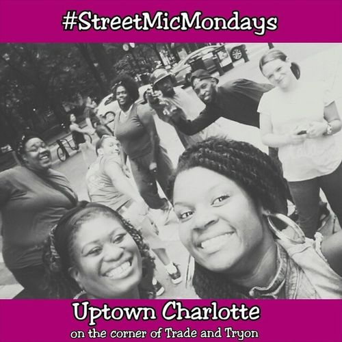 Had a blast yesterday! If you're an artist come find us. Charlotte needs to hear you. StreetmicMondays