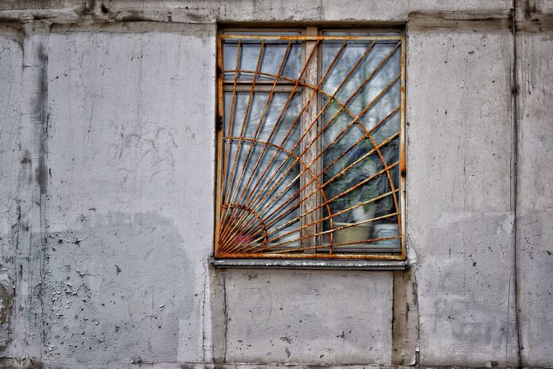Architecture Built Structure No People Day Building Exterior Window Wall - Building Feature Building Pattern Outdoors Abandoned Wood - Material Glass - Material Metal Old Low Angle View Damaged Design House Weathered