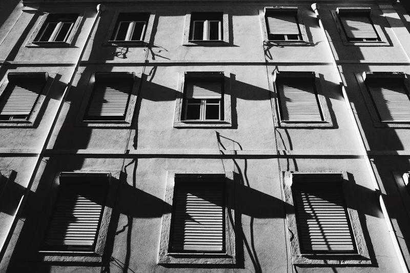 Blackandwhite Window Architecture Building Exterior Pattern FujiX100T Fujifilm_xseries