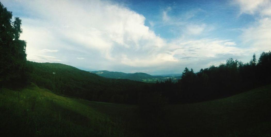 Nature Horizon Enjoying The View Sky