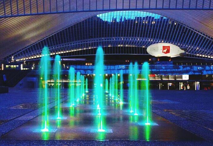 Railway Station Architecturelovers Belgium EyeEmBestPics Urban Architecture Liège-guillemins Santiago Calatrava Light In The Darkness Invitation Au Voyage Decemberphotochallenge
