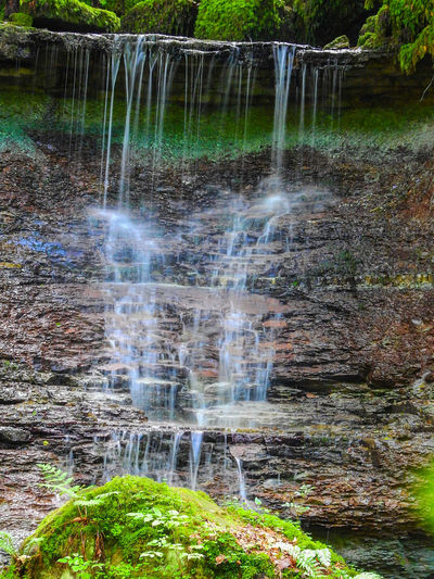 Water Motion Waterfall Long Exposure No People Nature Outdoors Scenics Beauty In Nature Environment Blurred Motion Travel Destinations Spraying Grass Day Landscape Freshness Irrigation Equipment Tree