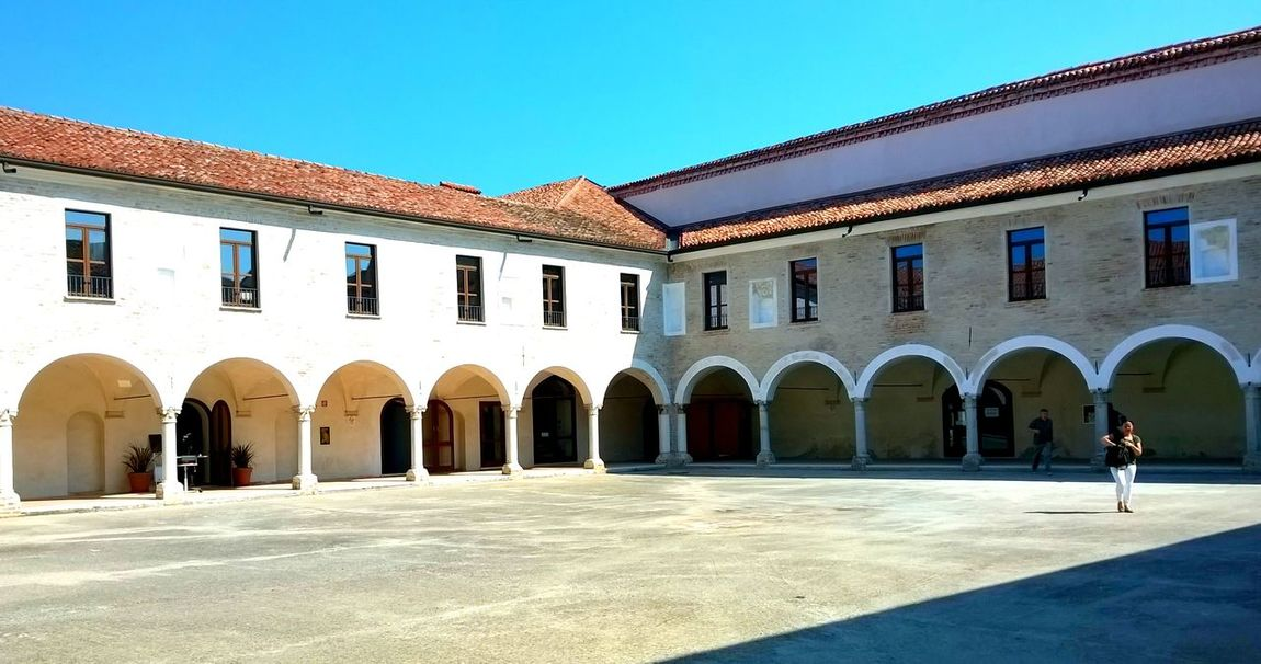 Chiostro di Santa Paola Ancient Civilization Arch Arched Architecture Art Building Exterior Built Structure Chiostro Cloister Culture Day Entrance Façade Historic History In A Row Italy Mantova Mantua Old Outdoors Pavement Portici Repetition Traditional