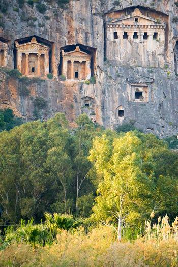 Lycian Tomb Dalyan Kaunos Turkey Tourism Mugla Travel Tomb Lycian Köyceğiz