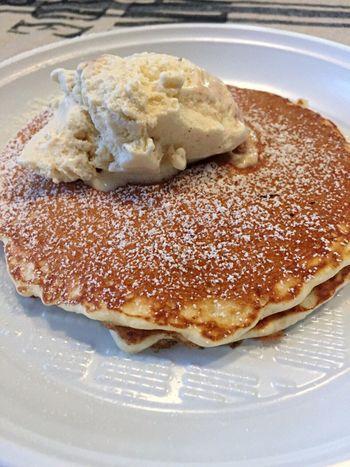 Pancakes Pankakes Breakfast Ice Cream Vanilla Ice Cream  Delicious Food Delicious