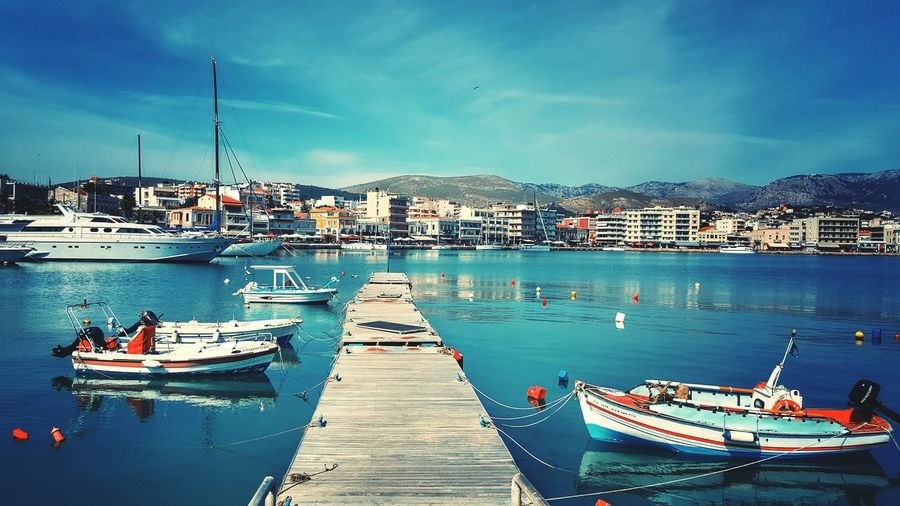 The Great Outdoors With Adobe Port View From Where I Stand Fishing Boats Sunny Day Cityscape Beautiful Day City View  Urban Landscape Photography Morning Light Seaside Port Urban Geometry Morning Sun Urban Nopeople Port Life The Essence Of Summer