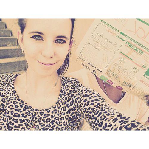 Wiedermal zeitungaustragen :D it's the same picture ;) Zeitungaustragen Suglie  Selfie Gammeln kbomghashtaghihihahoo