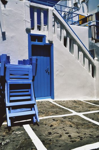 something blue Light Blue And White Streetphoto_color Outdoors Street Photography No People Mykonos,Greece Mykonos Colour Of Life Color Explosion Freshness EyeEm Gallery Eye4photography  Built Structure Building Exterior Mykonostown EyeEmNewHere Closed Early Morning Quiet Moments Quiet Nopeople Doorporn Doors Lover Door