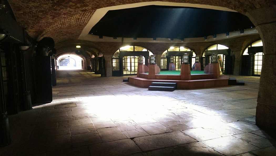 Tobacco Dock Sun Beam Underground Light And Shadow Listed Building Mystical London City Hidden Places Fine Art Photography